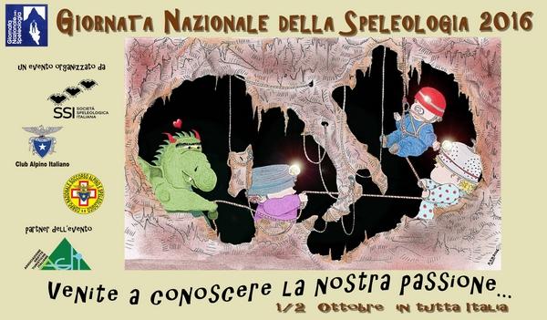GNS 2016 Giornata Nazionale della Speleologia